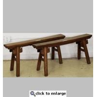 Antique Chinese Gate Benches M2B10X