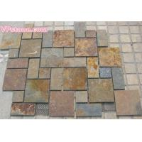 Buy cheap Rust Slate Tiles, Pattern from Wholesalers