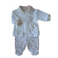Quality Baby's and kid's wear 80% cotton 20% polyester 240gsm velet 3-24M girls for sale