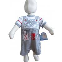 Quality Baby's and kid's wear 100% cotton interlock 200gsm boy for sale