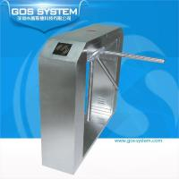 Quality GS21105 GOS SYSTEM finger print gate access control tripod turnstiles for sale