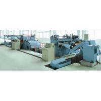 Quality T44K NC sheet metal uncoiling,leveling and shearing production line for sale