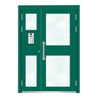 Quality Building Doors Item No.:6002A(Fluorocarbon paint the door green star) for sale