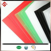 Buy cheap Colorful PP Corrugat... Product: PP coroplast sheet ,pp corflute sheet ,plastic sheet from wholesalers