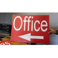 Buy cheap Advertising Board ENGLISH Product: corflute sign ,custom sign from wholesalers