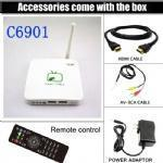 Quality C6901 Chinese HD live tv channels iptv box,Hongkong,Macao,Taiwan channels for sale