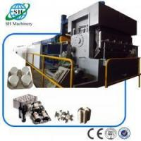 Quality Eight Platens Bottle Tray Paper Plate Making Machine with Energy Saving SHZ-3600 for sale