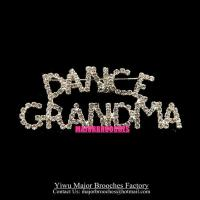Event Brooches DANCE GRANDMA Pins Custom Made Gift Brooch MP046