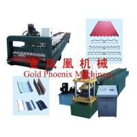 Quality Color steel equipment Tamping plant for roller shutter door for sale