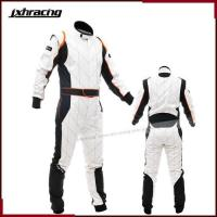 Buy cheap 2014 Pure Cotton Automobile One Piece Training Conjoined Drift Kart Suit Men Car Race Overalls from wholesalers