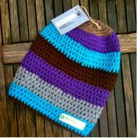 Buy cheap Crochet Stripe Beanie from wholesalers