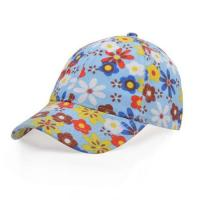 Buy cheap 100% Cotton Flower Fabric Cap from wholesalers