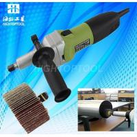 China Stone Diamond Tools Electrical Metal Stainless Steel Pipe Tube Finishing Dual Action Polisher on sale