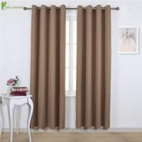 Quality Cappuccino Blackout Window Curtains in Eco-friendly Style for sale