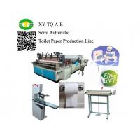 Buy cheap Semi Automatic Small Toilet Paper Production Line from wholesalers
