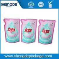 stand up shape bag for 500g liquid detergent packing