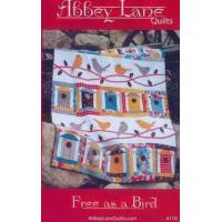 China INTRODUCTORY SPECIAL...Free as a Bird, #179 quilt sewing pattern from Abbey Lane Quilts on sale