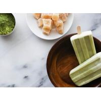 Quality Dreamsicle Matcha Ginger Popsicles for sale