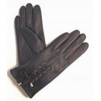 Buy cheap ladies laced leather gloves from wholesalers