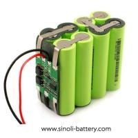 Buy cheap Lithium Battery 14.4V Li-ion Battery Pack from wholesalers