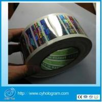 Quality High Resolution 2d Hologram Stickers in Roll for sale