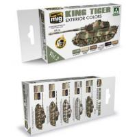 Buy cheap King Tiger Exterior Color Acrylic Paint Set (Takom Edition) AMMO of Mig Jimenez from wholesalers