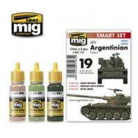 Buy cheap AFV Argentinian Color Acrylic Paint Set AMMO of Mig Jimenez from wholesalers