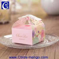 2015 Hollow Out Wedding Rectangle Folding Paper Box