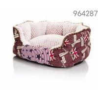 China best selling products dog red color kennel paw shape luxury dog beds for large dogs on sale