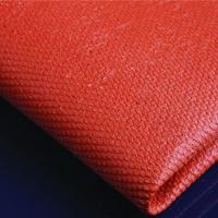 Quality Silicone coated Fiberglass Cloth fabric 0.43mm black for sale