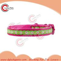Quality RW-C0020 Luxury Woven Tape Dog Collar for sale
