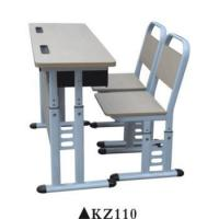 Quality Double used preschool furniture school chair desk for sale KZ110 for sale
