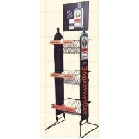 Quality Unique Gridwall Shop Display Stands With Adjustable Wire Hook Bars for sale