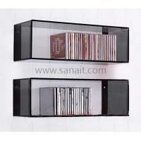 China Wall mounted acrylic CD display stands SCD-009 on sale