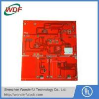 Buy cheap red color fr4 Quick turn pcb manufacturer from wholesalers