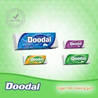 Quality Doodal sugar free Chewing gum double layer 10's package for sale