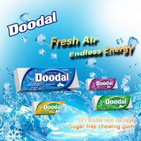 Quality Doodal Xylitol Chewing gum double layer 10's package for sale