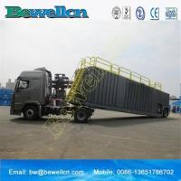 Quality 77m3frac tank with wheel for use in the oil industry for sale