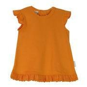 Buy Baby's T-shirt with purfle cuff, made of 100% cotton interlock at wholesale prices