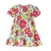 Quality Babies' dress with allover print, made of 100% cotton interlock for sale