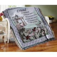Buy cheap True Friend Garden Tapestry Throw from wholesalers