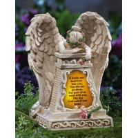 Buy cheap Solar Lighted Weeping Angel Garden Memorial from wholesalers