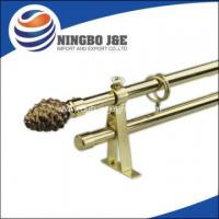 Buy cheap Window Curtain Pole With Glass Curtain Pole Finial from wholesalers