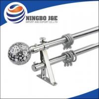 Buy cheap SS Color Window Curtain Pole Set from wholesalers