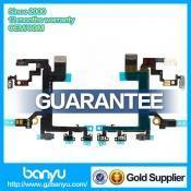 Quality Banyu sell spare parts power button flex cable ribbon for iphone 5s for sale