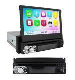 China DVB-T2 In-dash 7 inch 1 din GPS DVD player car Navigator with Touch screen FM AM on sale