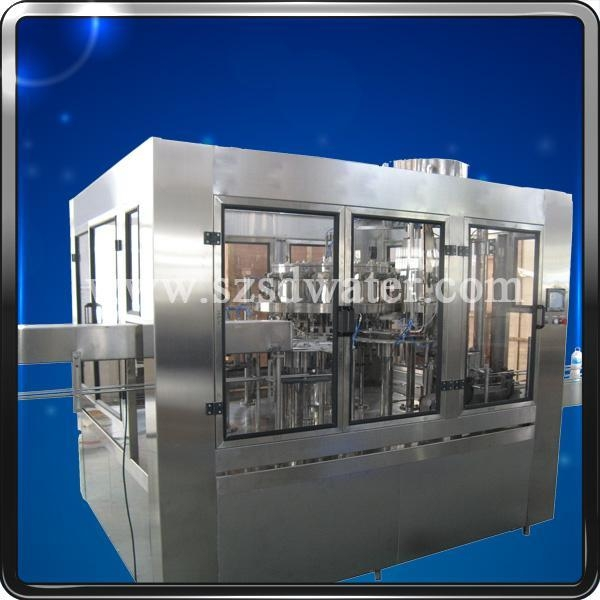 Buy Good Mono-block 3-in-1 Carbonated Drinks Filler for Coca Cola at wholesale prices