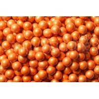 Quality Shimmer Orange Sixlets Candy Coated Chocolate Balls for sale