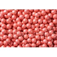 Quality Shimmer Coral Sixlets - Candy Coated Chocolate Balls for sale