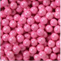Quality Shimmer Pink Sixlets Candy Coated Chocolate Balls for sale
